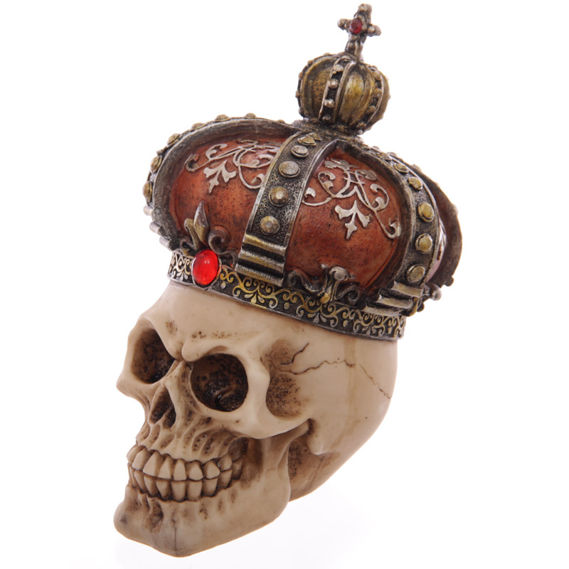 Skull head with Crown