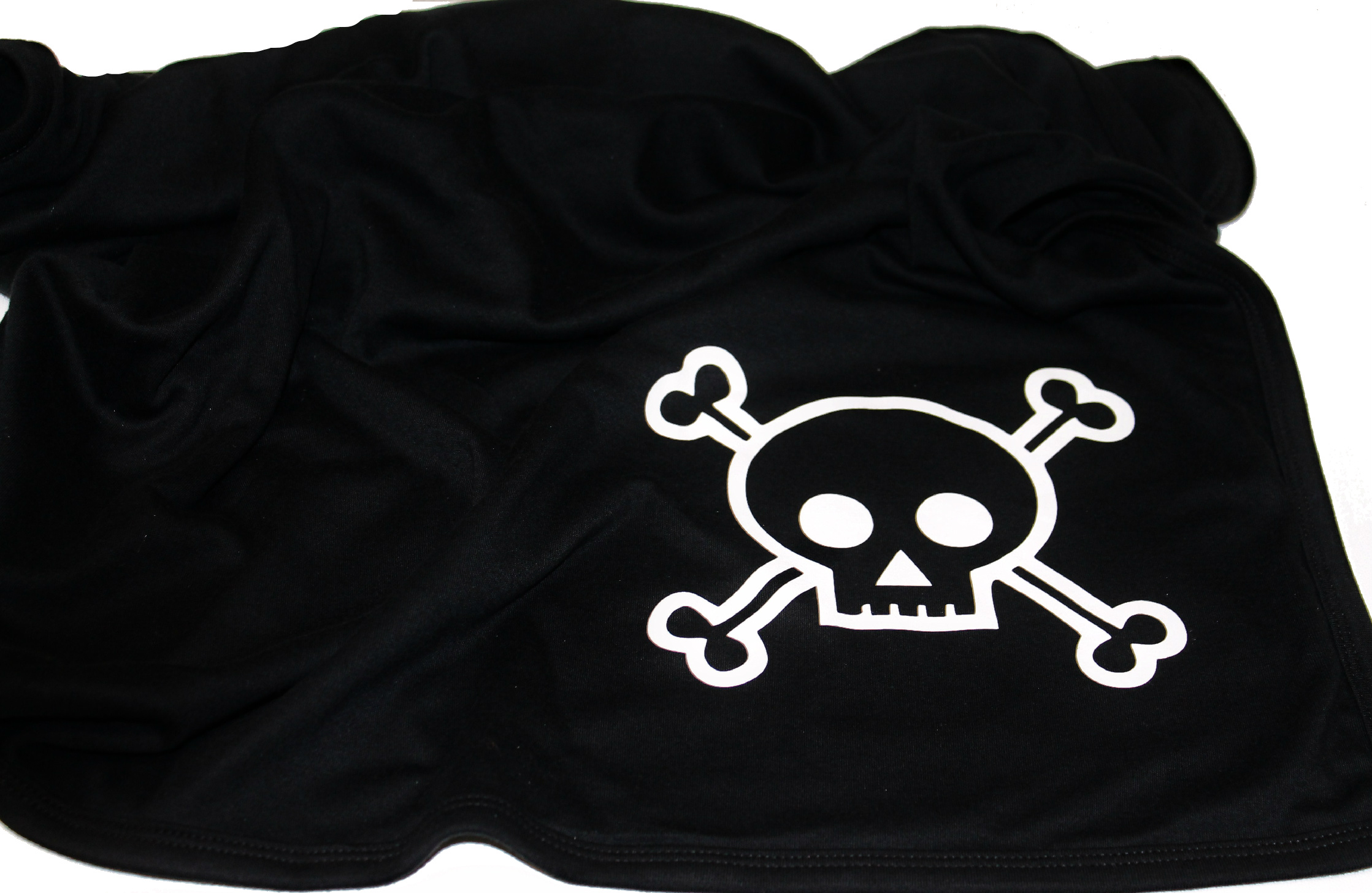 Baby Blanket for Little Pirates- skull and crossbones