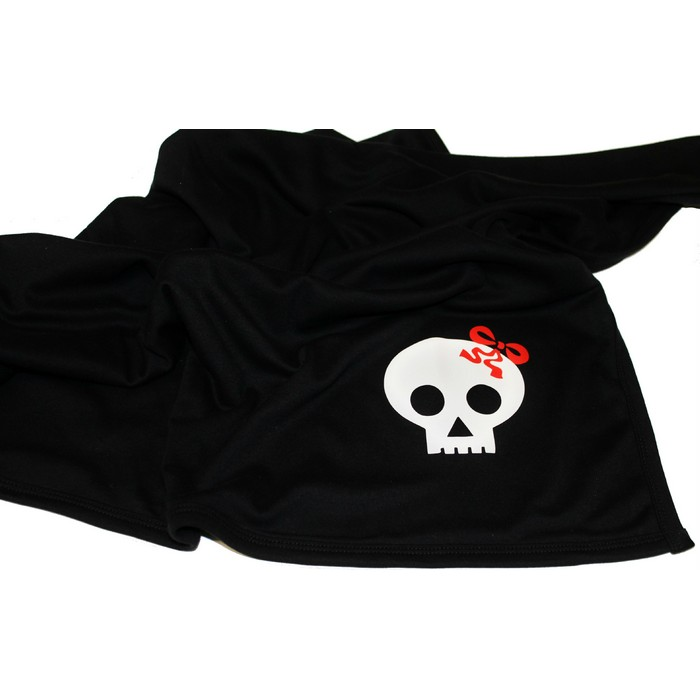 Baby Blanket for Girls - skull and bow
